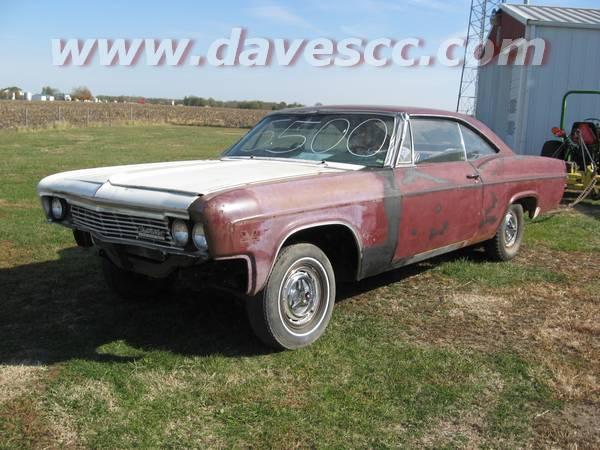 1966 Impala SS Sale