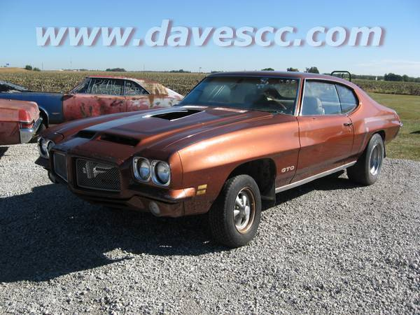 1971 Gto For Sale At Dave S Classic Cars
