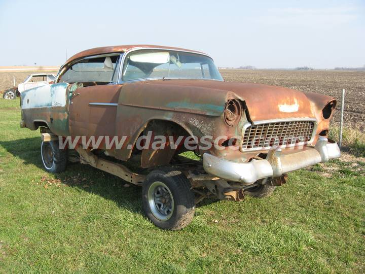 Classic 55 Chevy Belair For Sale