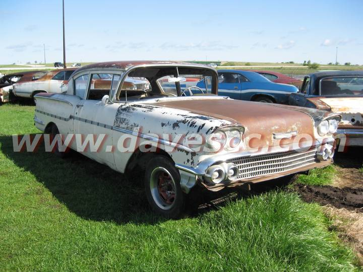 Old 1958 Chevy Delray Project car