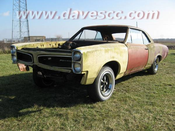 66 Lemans Project for Sale, Easy GTO clone