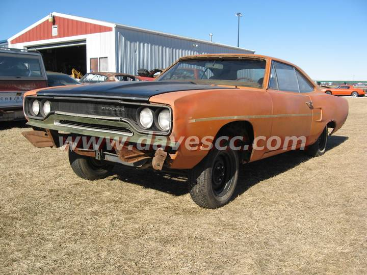 Muscle Car Project For Sale, 70 Roadrunner